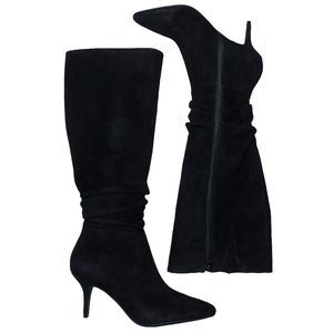 [ISAAC MIZRAH] Aideen Suede Slouch Boots